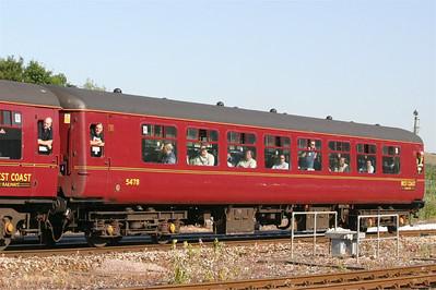 West Coast Railway Co's 5478 at Exeter St Davids