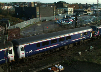 Mk2E BUO - 9800-9810 (AE4E) - Scotrail Sleeper brake vehicles