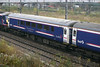 Scotrail BUO (Brake open unclassified) 9810 from their sleeper fleet passing Willesden Junction on the 9th November 2009