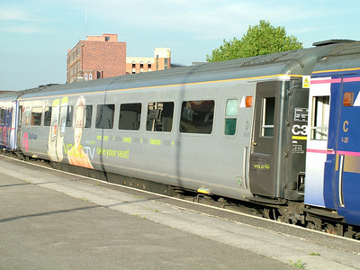 42076 was the Volo coach, demonstrating onboard TV service
