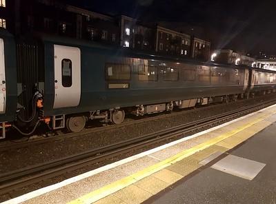 New MK5 Caledonian Sleeper Coach 15302 seen at Kensington Olympia on 6Q72 Dollands Moor-Polmadie   15/01/18