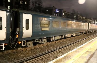 New MK5 Caledonian Sleeper Coach 15301 seen at Kensington Olympia on 6Q72 Dollands Moor-Polmadie   15/01/18