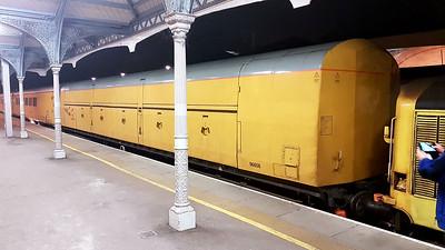 Network Rail 96608 ex Motor Rail Van at Hertford East  27/03/17