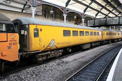 Network Rail MK2 72639 seen at Newcastle on 1Q02 Heaton - Derby   27.12.18
