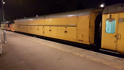 Network Rail 96604 ex Motor Rail Van at Hertford East  27/03/17