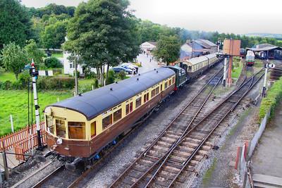 178 departs Buckfastleigh 28/08/10