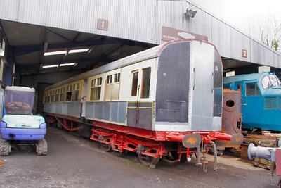 232 undergoing restoration at Bodmin General 28/03/10