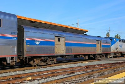 1257 arrives into Los Angeles Union  02/02/15