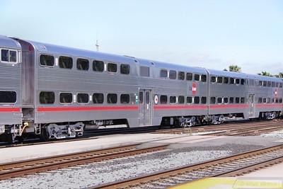 Caltrain Car 4023 in San Jose  07/06/10