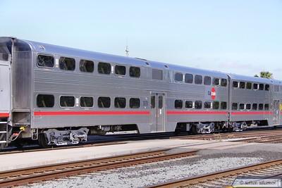Caltrain Car 3829 in San Jose  07/06/10