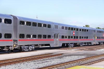 Caltrain Car 3851 in San Jose  07/06/10