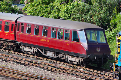 1719 on the Great Central Railway 14/05/11  LNER 1719 Coronation 'Beavertail' Observation Car was built in 1937