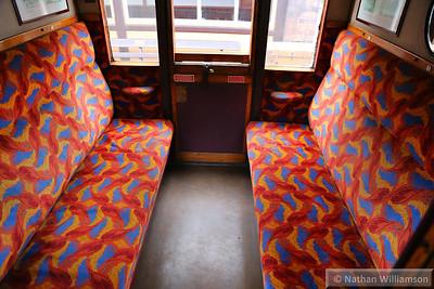 24068 - LNER Brake Composite Corridor built in 1937 interior  03/10/14