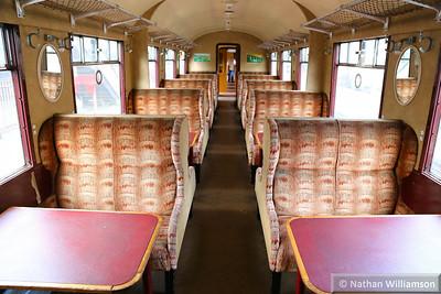 43612 - Gresley Open Third built in 1934 interior  03/10/14