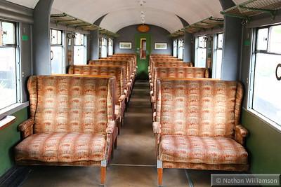 24105 - Gresley Open Third built in 1936 interior  03/10/14