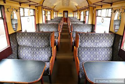 52255 - Gresley Open Third built in 1935 interior  03/10/14