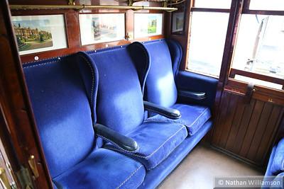 2701 - GNR Corridor Composite built in 1922 interior  03/10/14