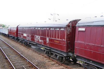 70268, LNER Gresley Gangwayed Passenger Brake, built in 1931 on the Great Central Railway 14/5/11
