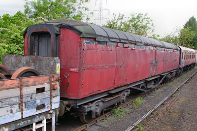 4149, Gresley Gangway Brake, built in 1936 on the Great Central Railway 14/05/11