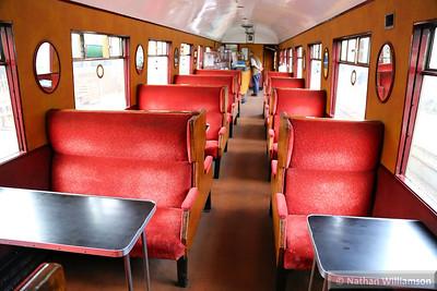 643 - Gresley Buffet Car built in 1937 interior  03/10/14