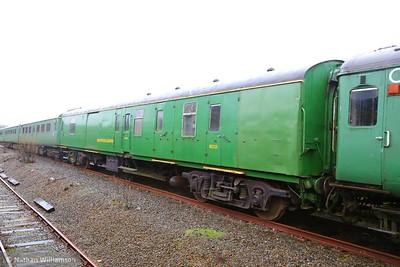 Mk1 NXX 80225 in Meldon Quarry on the Dartmoor Railway  03/04/15