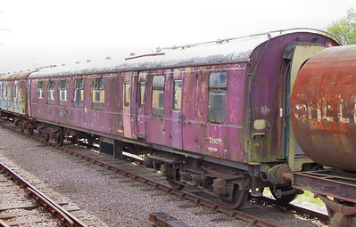 Mk1 BCK 21031 in storage on the Great Central Railway 14/05/11