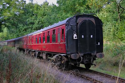 Mk1 BCK 21274 on the West Somerset Railway 01/10/09