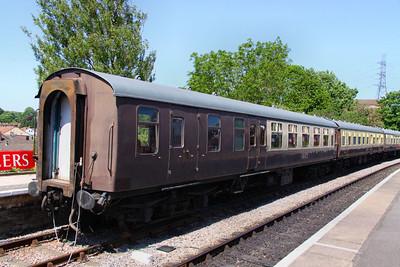 Mk1 BSO 9208 in Bitton - part of the Avon Railway Railway Dining Train 26/05/12