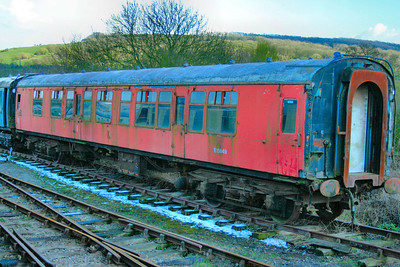 Mk1 CK 15849 stored at Winchcombe on the Gloucestershire & Warwickshire Railway 06/04/08