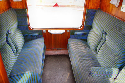 16070 - Interior of Standard Class Compartment, based on the Great Central Railway 14/05/11