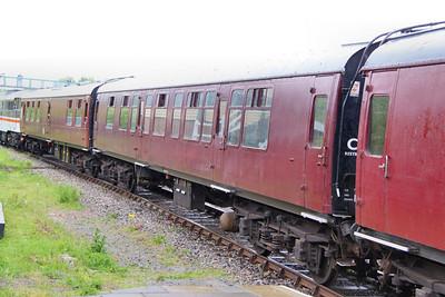 Mk1 CK 16190 arrives into Ruddington on the Great Central Railway (North) 15/05/11