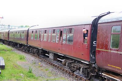 Mk1 CK 16168 arrives into Ruddington on the Great Central Railway (North) 15/05/11