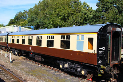 Mk1 FK 13313 at Rothley on the Great Central Railway 08/09/12