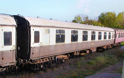 Mk1 FK 13337 at Winchcombe on the Gloucestershire & Warwickshire Railway 25/10/09