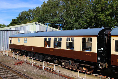 1962 at Rothley on the Great Central Railway, wearing a fresh coat of Chocolate & Cream 08/9/12
