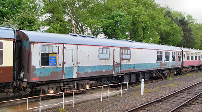Mk1 RBR 1962 stored on the Great Central Railway 14/05/11