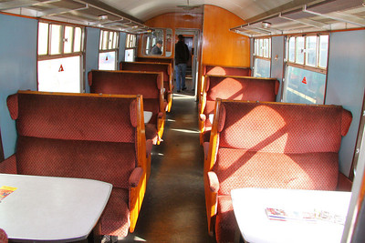 Interior of Mk1 RMB 1852, based on the Great Central Railway 14/05/11