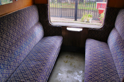 Interior of Mk1 SK 24985 based on the West Somerset Railway 24/10/09