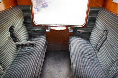 Interior of Mk1 BSK 25312 based on the Great Central Railway 14/05/11