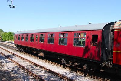 Mk1 TSO 3745 at Avon Riverside, on the Avon Valley Railway 26/05/12