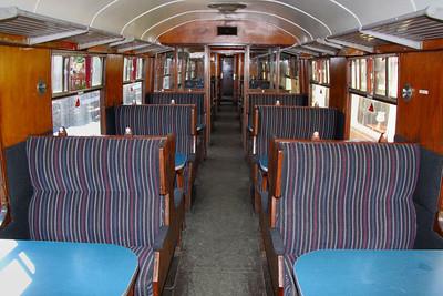 Mk1 TSO 3745 Interior - running on the Avon Valley Railway 26/05/12