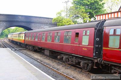 Mk1 TSO 4236 arrives into Weybourne, on the North Norfolk Railway  05/06/13