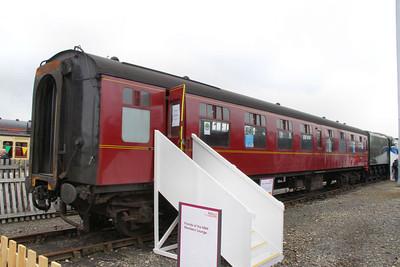 Mk1 TSO 4290 on display in York Railfest 2012  06/06/12