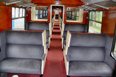 4081 Interior - operated by the Paignton & Dartmouth Steam Railway  04/05/12