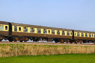 Mk1 TSO 4346 at Blue Anchor, based on the Somerset Railway  24/03/12