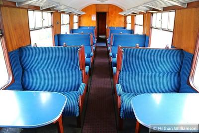 Mk1 TSO 4058 Interior, based on the Avon Valley Railway  11/04/15