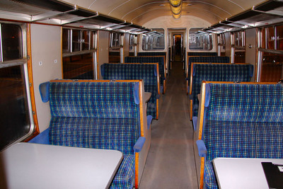 Interior of Mk1 TSO 5032 in operation with WCRC 17/10/09