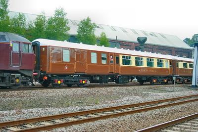 Mk2a BFK 17080 departs Newton Abbot 27/08/09