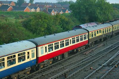 Mk2a TSO 5341 departs Westbury 13/09/08