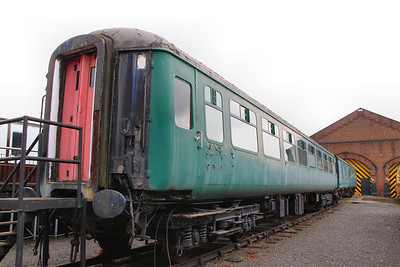Mk2b TSO 5455 in York National Railway Museum, being used as a school coach  06/06/12